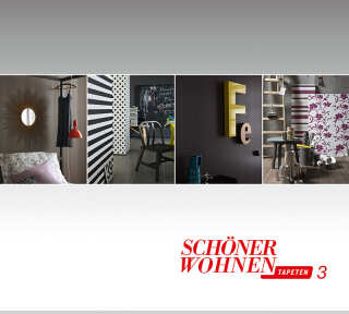 Tapetenkollektion «Schöner Wohnen 3» von «Schöner Wohnen»: Tapeten-Artikel 11; Raumbilder 2