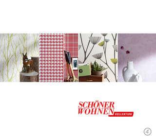 Tapetenkollektion «Schöner Wohnen 4» von «Schöner Wohnen»: Tapeten-Artikel 20; Raumbilder 1