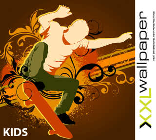 Wallpaper Collection «Kids» by «Livingwalls»: Wallpaper Item 30; Interior Views 2
