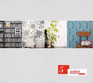 Tapetenkollektion «Schöner Wohnen 5» von «Schöner Wohnen»: Tapeten-Artikel 28; Raumbilder 1