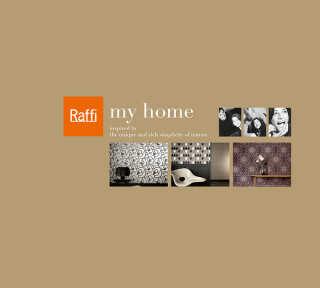 Tapetenkollektion «My home by Raffi» von «Raffi»: Tapeten-Artikel 61; Raumbilder 13
