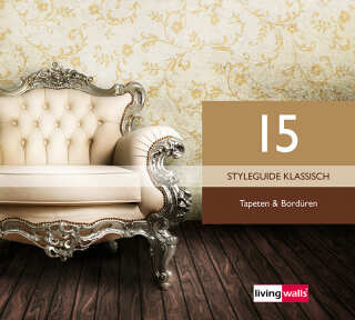 Tapetenkollektion «Styleguide Klassisch» von «Livingwalls»: Tapeten-Artikel 118; Raumbilder 6