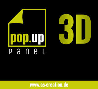 Tapetenkollektion «pop.up panel 3D» von «Livingwalls»: Tapeten-Artikel 8; Raumbilder 5