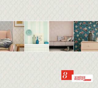 Tapetenkollektion «Schöner Wohnen 8» von «Schöner Wohnen»: Tapeten-Artikel 40; Raumbilder 8