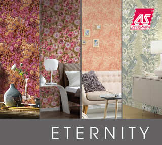 Wallpaper Collection «Eternity» by «A.S. Création»: Wallpaper Item 32; Interior Views 2