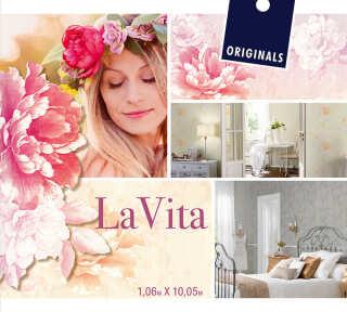 Tapetenkollektion «La Vita» von «A.S. Création»: Tapeten-Artikel 24; Raumbilder 2