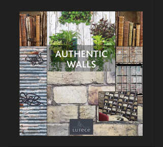 Tapetenkollektion «Authentic Walls» von «Lutèce»: Tapeten-Artikel 50; Raumbilder 9