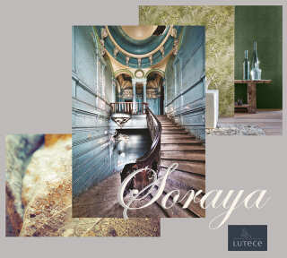 Wallpaper Collection «Soraya» by «Lutèce»: Wallpaper Item 40; Interior Views 9
