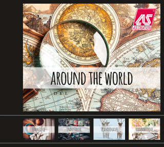 Tapetenkollektion «Around the World» von «A.S. Création»: Tapeten-Artikel 53; Raumbilder 16