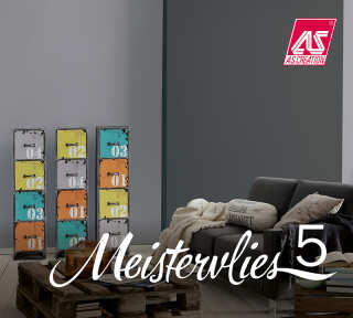 Tapetenkollektion «Meistervlies 5» von «A.S. Création»: Tapeten-Artikel 50; Raumbilder 5