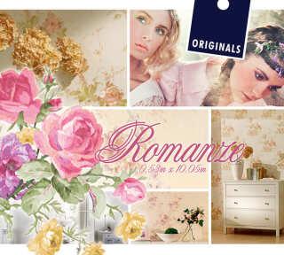Tapetenkollektion «Romanze» von «ORIGINALS»: Tapeten-Artikel 10; Raumbilder 2