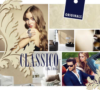 Collection de papiers peints «Classico» de «ORIGINALS»: Articles 10; Visuels 1