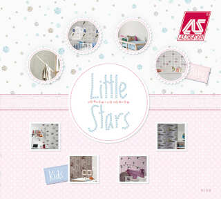 Wallpaper Collection «Little Stars» by «A.S. Création»: Wallpaper Item 86; Interior Views 8