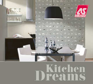 Tapetenkollektion «Kitchen Dreams» von «A.S. Création»: Tapeten-Artikel 55; Raumbilder 6