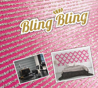 tapetenkollektion bling bling von a s cr ation. Black Bedroom Furniture Sets. Home Design Ideas