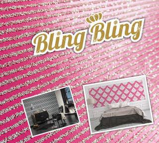 Tapetenkollektion «Bling Bling» von «A.S. Création»: Tapeten-Artikel 14; Raumbilder 2