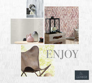 Wallpaper Collection «Enjoy» by «Lutèce»: Wallpaper Item 35; Interior Views 10
