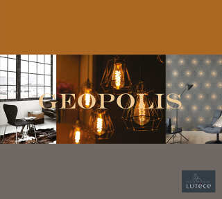 Wallpaper Collection «Geopolis» by «Lutèce»: Wallpaper Item 39; Interior Views 4