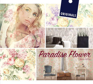 Wallpaper Collection «Paradise Flower» by «ORIGINALS»: Wallpaper Item 34; Interior Views 4