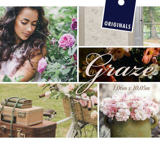 Collection de papiers peints «Graze» de «ORIGINALS»: Articles 12; Visuels 1