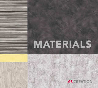 Wallpaper Collection «MATERIALS» by «A.S. Création»: Wallpaper Item 54; Interior Views 5