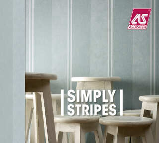 Tapetenkollektion «Simply Stripes» von «A.S. Création»: Tapeten-Artikel 150; Raumbilder 13