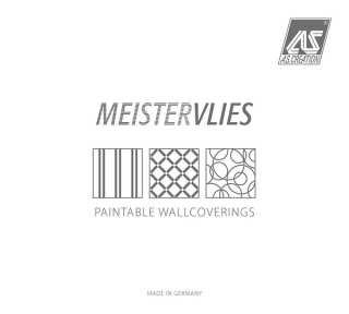 Tapetenkollektion «Meistervlies 2020» von «A.S. Création»: Tapeten-Artikel 157; Raumbilder 132