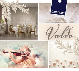 Collection de papiers peints «Valdo» de «ORIGINALS»: Articles 8; Visuels 2
