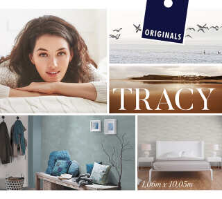 Collection de papiers peints «Tracy» de «ORIGINALS»: Articles 16; Visuels 2
