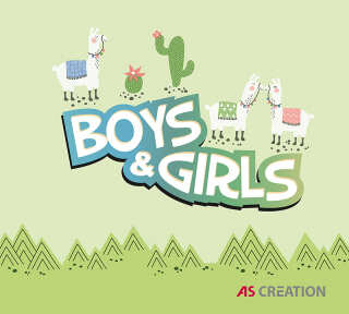 Collection de papiers peints «Boys and Girls 6» de «A.S. Création»: Articles 120; Visuels 22