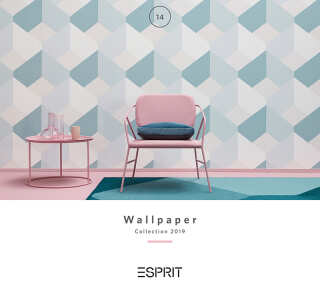 Wallpaper Collection «Esprit 14» by «Esprit Home»: Wallpaper Item 47; Interior Views 5