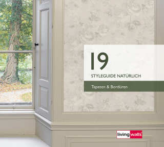 Wallpaper Collection «Styleguide Natuerlich 2019» by «Livingwalls»: Wallpaper Item 130; Interior Views 18