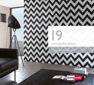 Wallpaper Collection «Styleguide Design 2019» by «Livingwalls»: Wallpaper Item 90; Interior Views 23