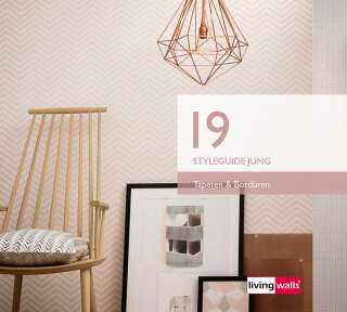 Wallpaper Collection «Styleguide Jung 2019» by «Livingwalls»: Wallpaper Item 105; Interior Views 15