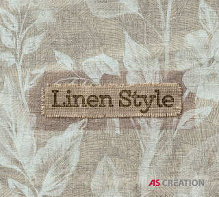 Wallpaper Collection «Linen Style» by «A.S. Création»: Wallpaper Item 53; Interior Views 53