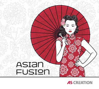 Wallpaper Collection «Asian Fusion» by «A.S. Création»: Wallpaper Item 42; Interior Views 9