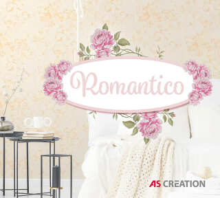 Wallpaper Collection «Romantico» by «A.S. Création»: Wallpaper Item 63; Interior Views 63