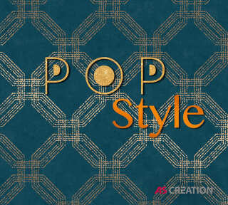 Обои «Pop Style» марки «A.S. Création»: обоев 49; интерьеров 17