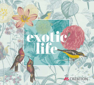 Wallpaper Collection «Exotic Life» by «Lutèce»: Wallpaper Item 52; Interior Views 6