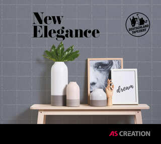 Wallpaper Collection «New Elegance» by «A.S. Création»: Wallpaper Item 48; Interior Views 48