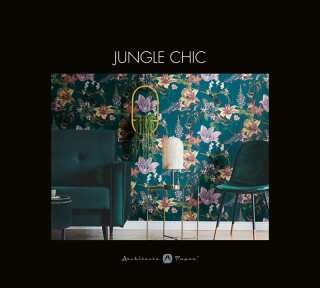 Обои «Jungle Chic» марки «Architects Paper»: обоев 49; интерьеров 14