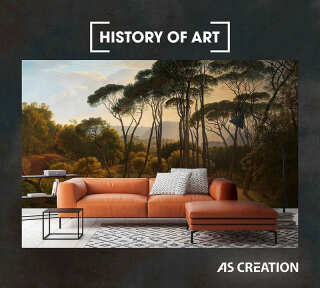 Wallpaper Collection «History of Art» by «A.S. Création»: Wallpaper Item 52; Interior Views 5