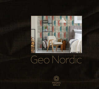 Wallpaper Collection «Geo Nordic» by «Private Walls»: Wallpaper Item 43; Interior Views 43