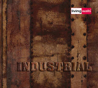 Wallpaper Collection «Industrial» by «Livingwalls»: Wallpaper Item 41; Interior Views 6