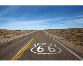 Livingwalls Photo wallpaper «Route 66» 030080