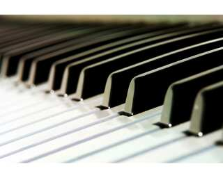Livingwalls Photo wallpaper «Piano» 030150