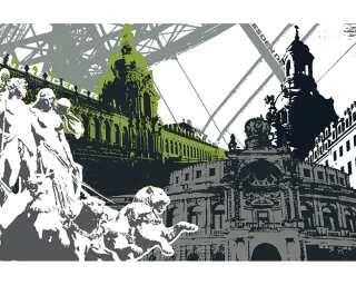 Fototapete «Dresden» 032060