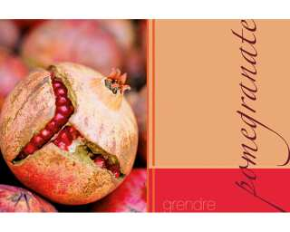 Livingwalls Fototapete «Pomegranate» 033070