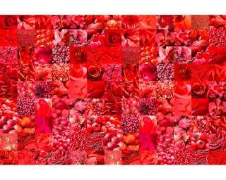 Livingwalls Fototapete «Red» 033130