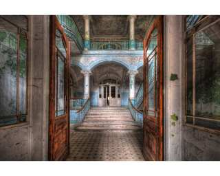 Livingwalls Photo wallpaper «Vintage Villa Entrance» 036020